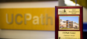 UCPath Center Honored with the 2018 Beautification Award
