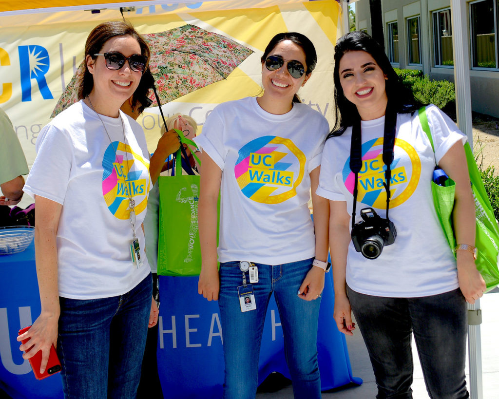 UCPath Center Employees Lace Up for UC Walks